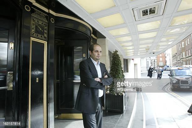 Rafik Khalifa In London. Rafik KHALIFA, ruiné et objet de plusieurs mandats d'arrêt pour 'transfert illicite de fonds à l'étranger' a trouvé refuge...