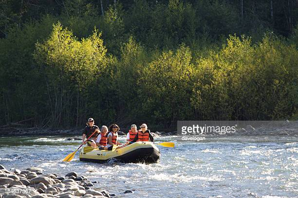Rafing On The Beautiful Elwha River