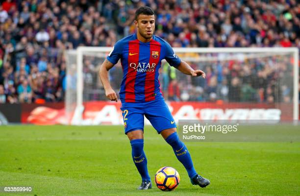 Rafinha Alcantara during La Liga match between FC Barcelona v Athletic Club in Barcelona on February 04 2017