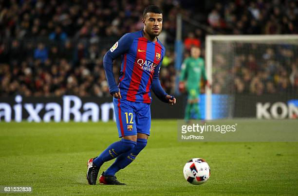 Rafinha during the King Cup match between FC Barcelona v Athletic Club Bilbao in Barcelona on January 11 2017