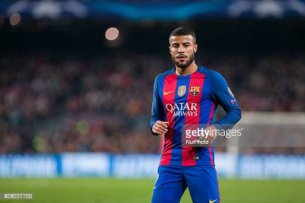Rafinha during the match between FC Barcelona Borussia Monchengladbach for the matchday 6 of the Champions League played at Camp Nou Stadium on 6th...