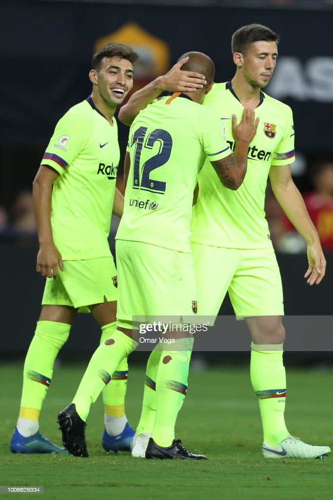 FC Barcelona v AS Roma - International Champions Cup 2018 : News Photo