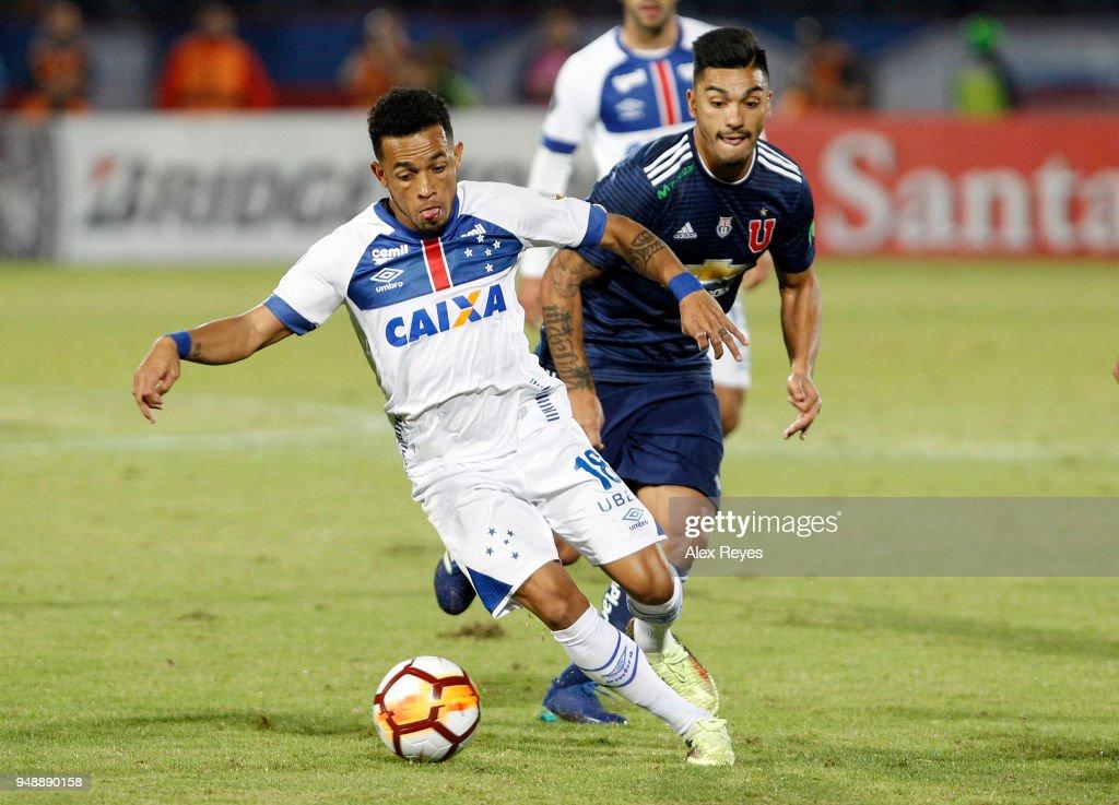 U De Chile v Cruzeiro - Copa CONMEBOL Libertadores 2018
