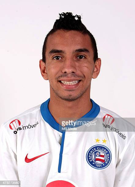 Rafinha of Esporte Clube Bahia poses during a portrait session August 14 2014 in SalvadorBrazil