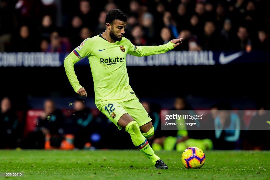 Atletico Madrid v FC Barcelona - La Liga Santander : News Photo