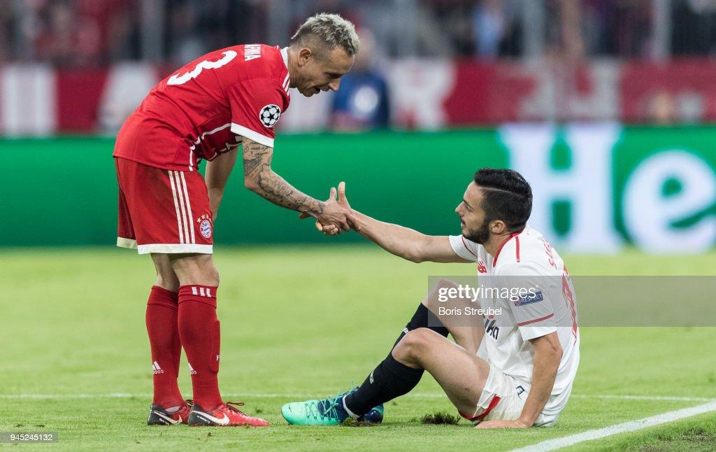 Bayern Muenchen v Sevilla FC - UEFA Champions League Quarter Final Second Leg