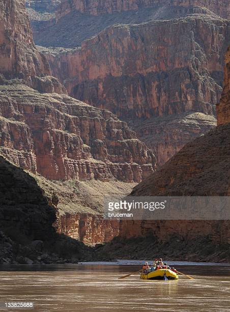 Rafters nel Grand Canyon