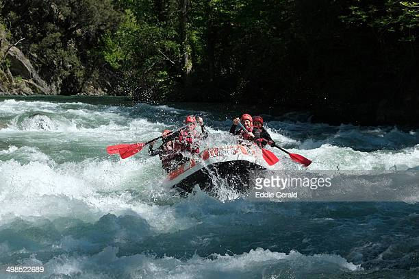 CONTENT] Rafting at the Noguera Pallaresa river in the Province of Lleida at the western part of the autonomous community of Catalonia