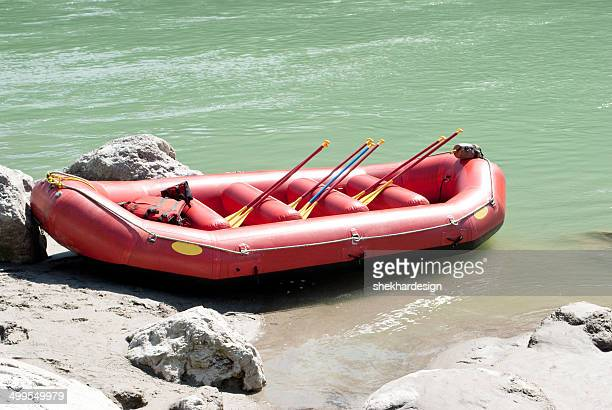 Rafting Boat at side