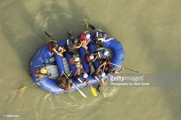 rafting in ganges - ganges river stock pictures, royalty-free photos & images