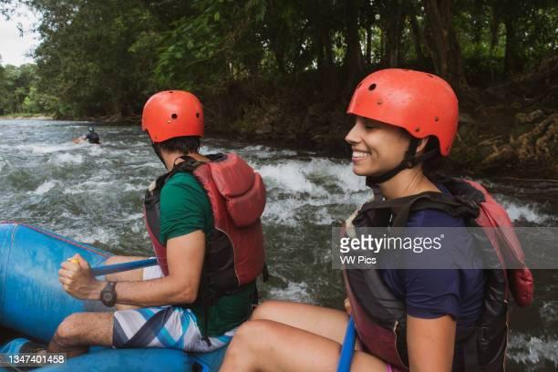 Rafting in Sarapiqui River, Costa Rica.
