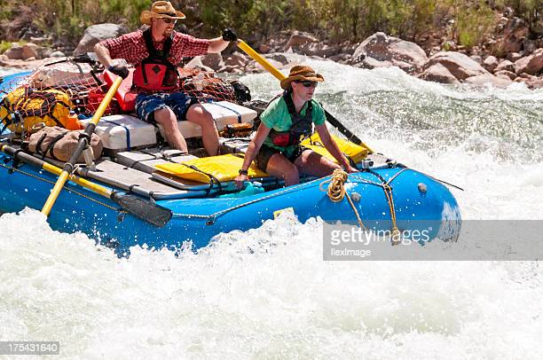 rafting lava falls - rafting stock pictures, royalty-free photos & images