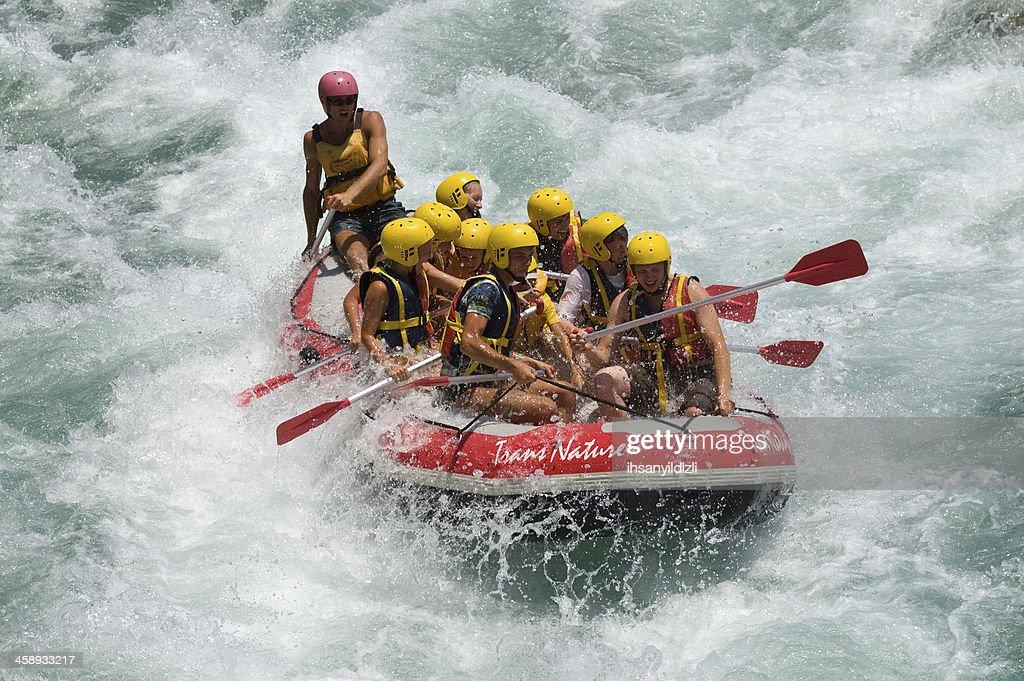 Rafting : Foto de stock