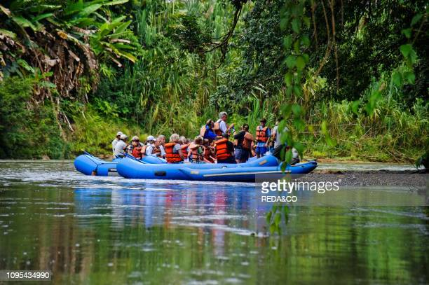 Rafting Rio Pe–as Blancas Republic of Costa Rica Central America