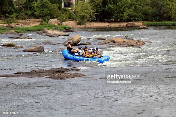 Rafting the James River