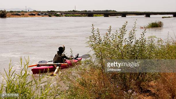 rafting the rio grande for environmental awareness - las cruces new mexico stock pictures, royalty-free photos & images