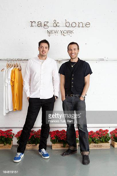 Rag Bone designers Marcus Wainwright and David Neville are photographed for Vogue UK on April 10 2012 in New York City PUBLISHED IMAGE
