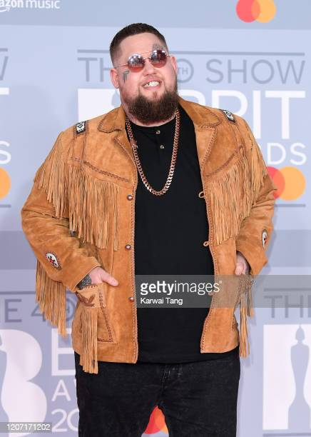 Rag n' Bone Man attends The BRIT Awards 2020 at The O2 Arena on February 18, 2020 in London, England.