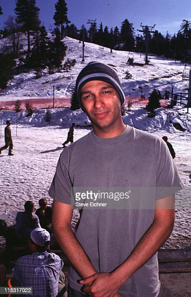 Rage Against The Machine during Board Aid Lifebeat Benefit 3151995 at Big Bear California United States