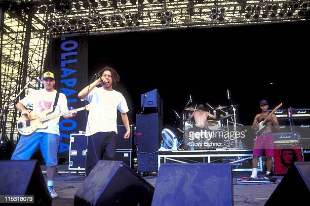 Rage Against the Machine during Lollapalooza 1993 - Waterloo Village at Waterloo in Stanhope, New Jersey, United States.