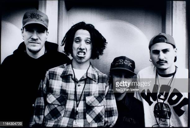 Rage Against The Machine portrait Pinkpop Landgraaf Netherlands 27th May 1996