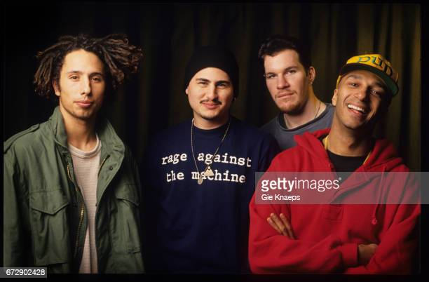 Rage Against The Machine Zack De La Rocha Tim Commerford Brad Wilk Tom Morello Vaartkapoen Brussels Belgium