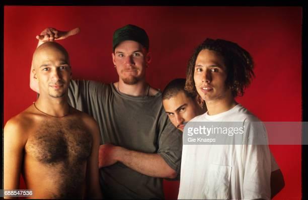 Rage Against The Machine Zack De La Rocha Tim Commerford Brad Wilk Tom Morello Brielpoort Deinze Belgium