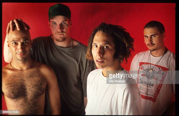 Rage Against The Machine Zack De La Rocha Tim Commerford Brad Wilk Tom Morello Brielpoort Deinze Belgium