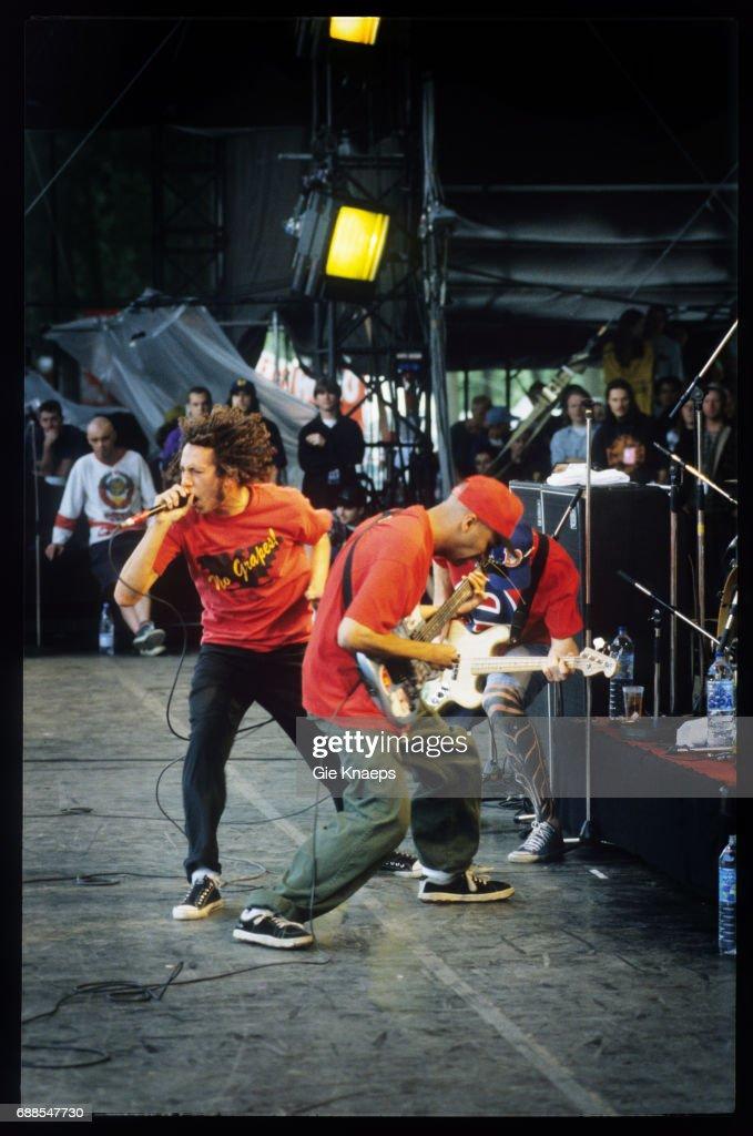 Rage Against The Machine : News Photo