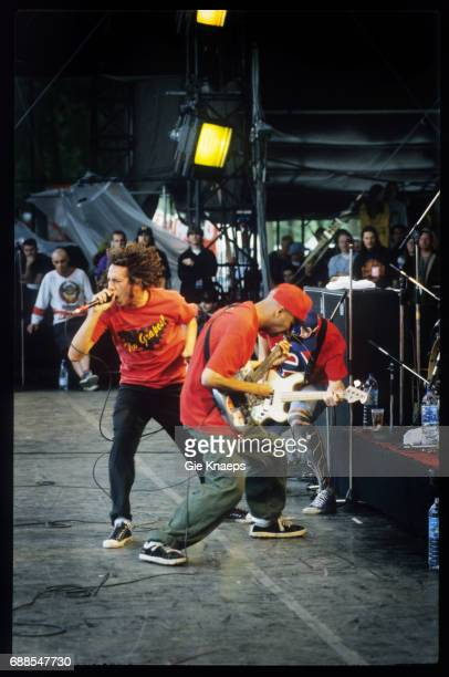 Rage Against The Machine Zack De La Rocha Tim Commerford Tom Morello Rock Werchter Festival Werchter Belgium