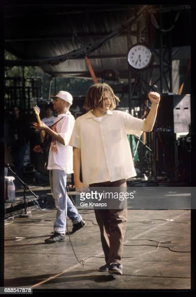 Rage Against The Machine Zack De La Rocha Tom Morello Pukkelpop Festival Hasselt Belgium