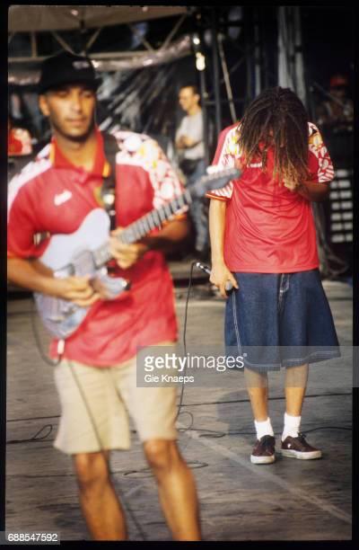Rage Against The Machine Zack De La Rocha Tom Morello Rock Torhout Festival Torhout Belgium