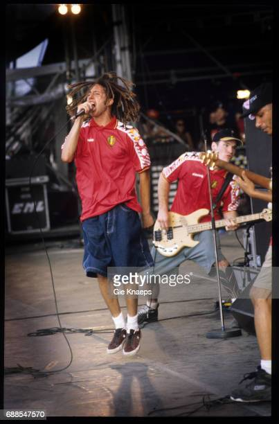 Rage Against The Machine Zack De La Rocha Tom Morello Tim Commerford Rock Torhout Festival Torhout Belgium