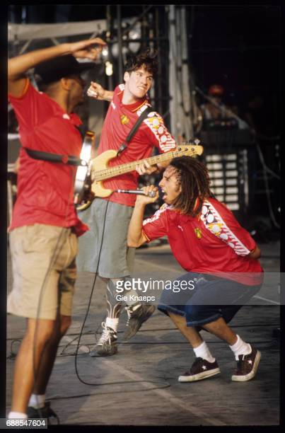 Rage Against The Machine Zack De La Rocha Tom Morello Tim Commerford Rock Torhout Festival Torhout Belgium