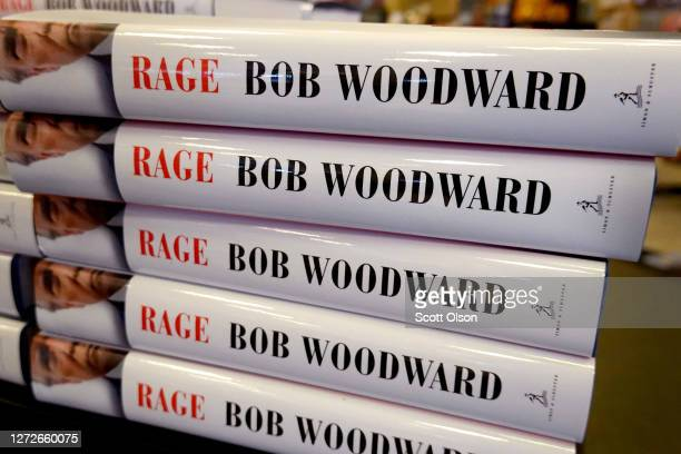 "Rage"" by Bob Woodward is offered for sale at a Barnes & Noble store on September 15, 2020 in Chicago, Illinois. The book, based on interviews that..."