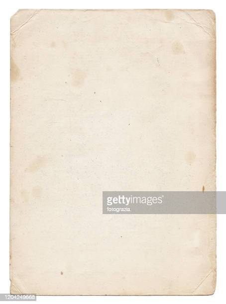 ragged old paper - old stock pictures, royalty-free photos & images