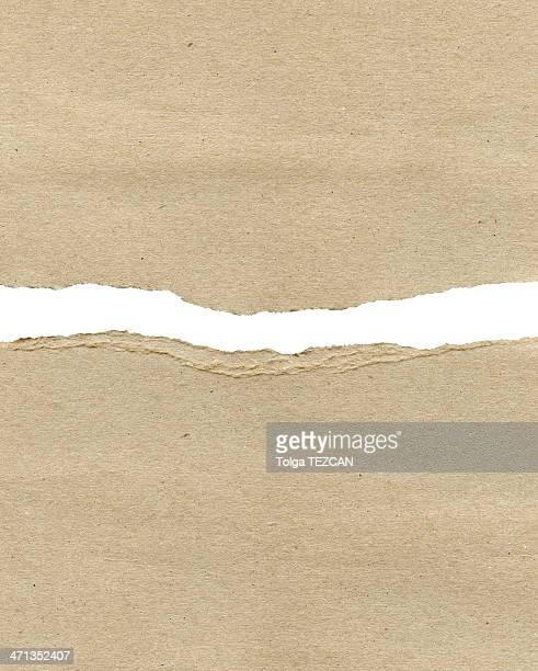 ragged paper - brown paper stock pictures, royalty-free photos & images