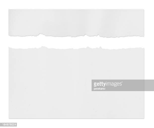 Ragged 白色用紙