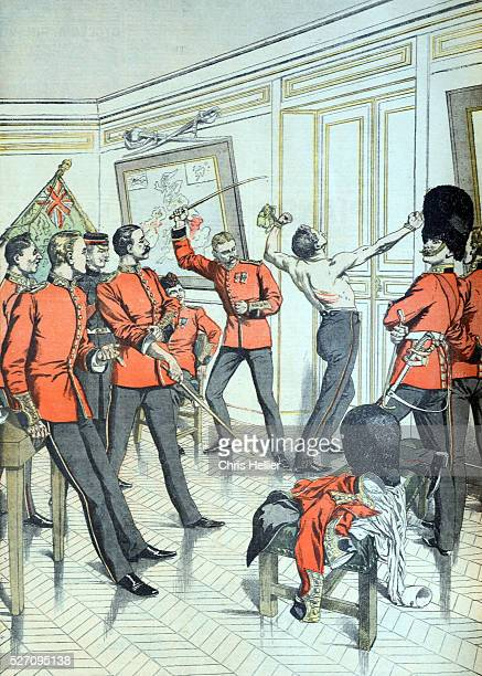 Ragging or Corporal Punishment Among British Army Officers