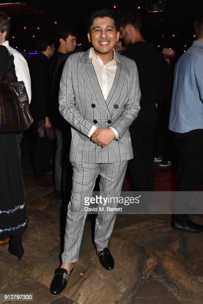 Raghav Tibrewal attends Bunga Bunga Covent Garden's 1st birthday party on January 31 2018 in London England