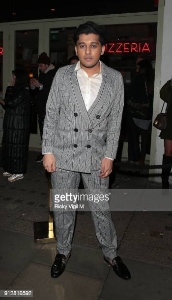 Raghav Tibrewal attends Celebrities attend Bunga Bunga 1st birthday party at Bunga Bunga Covent Garden on January 31 2018 in London England