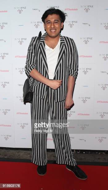 Raghav Tibrewal attends In The Style TOTES OVER IT Valentine's Party at Libertine on February 8 2018 in London England