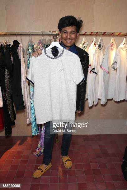 Raghav Tibrewal attends the Cinta The Label launch party at Arty Farty Fashion Party on November 30 2017 in London England