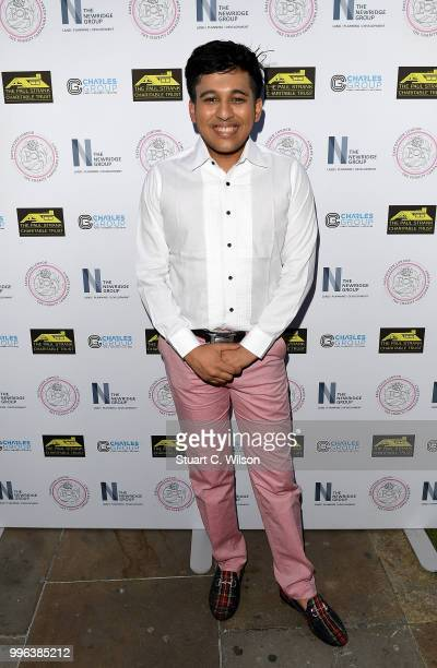 Raghav Tibrewal attends the Paul Strank Charitable Trust Summer party at Sanctum Soho Hotel on July 11 2018 in London England