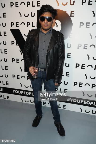 Raghav Tibrewal attends the You People launch party on November 23 2017 in London England