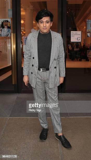 Raghav Tibrewal seen attending Kurt Geiger boutique opening party at Selfridges on May 31 2018 in London England