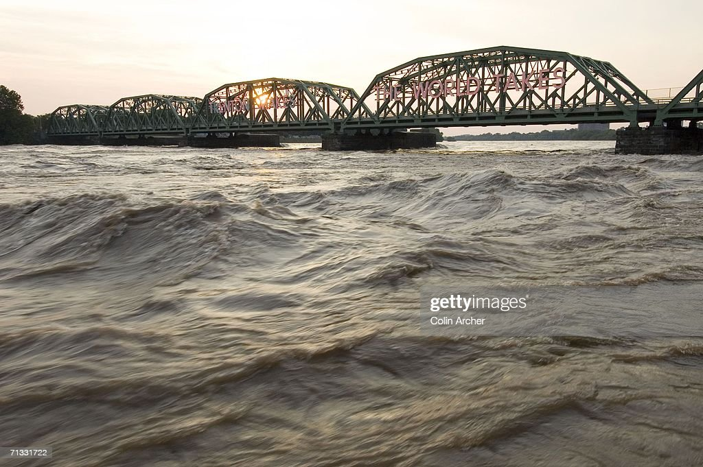 Major Flooding Hits Delaware River Towns : News Photo