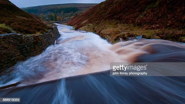 Raging River Etherow, Derbyshire