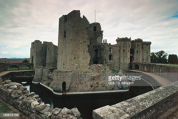Raglan Castle Wales United Kingdom