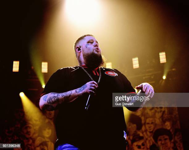 Rag'n Bone Man performs at Alexandra Palace on March 8 2018 in London England
